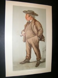 Vanity Fair Print 1899 Lord Justice Williams, Legal